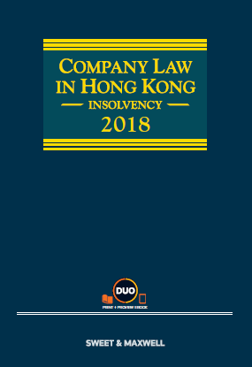 Company Law in Hong Kong: Insolvency, 2018