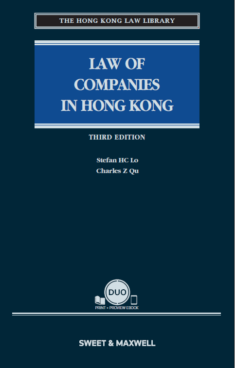 Law of Companies in Hong Kong, Third Edition